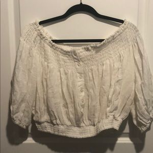 Free people woman ivory Blouse